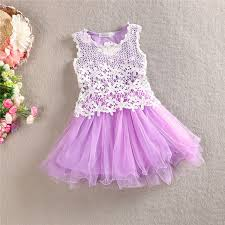 baby crochet lace tulle dresses 2015 summer hallow