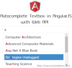 angularjs tutorial with web api autocomplete textbox in angularjs with dynamic data using web api c