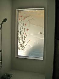Bathroom Shower Windows by Frosted Glass Window Bathroom Akioz Com