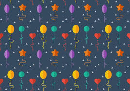 free balloons free balloons pattern 7 free vector stock graphics