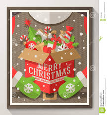 christmas type design poster stock vector image 45720409