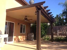 Lattice Patio Cover Design by Wood Patio Covers Tags Magnificent Alumawood Pergola Wonderful