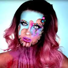 nicole guerriero u0027s candy killer halloween makeup tutorial