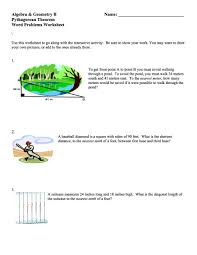 8 2 word problem practice the pythagorean theorem and its converse