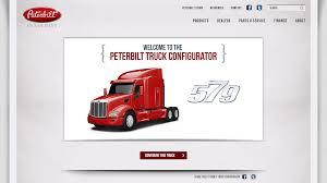 peterbilt truck dealer peterbilt truck configurator