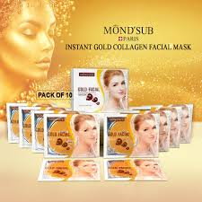 Collagen Mask buy instant gold collagen mask at best price in india