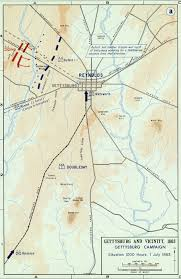 Gettysburg Map Paying The Devil U2013 The First Day At Gettysburg U2013 Civil War Daily