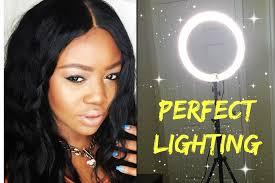 diva ring light amazon diva ring light review demo youtube