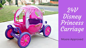 girls princess carriage bed 24v disney princess carriage assembly u0026 first impressions youtube