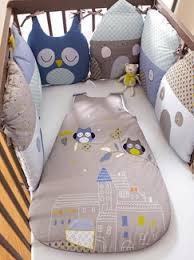 chambre b b vertbaudet tour de lit modulable bébé thème t hibou vertbaudet enfant