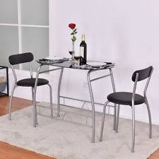 Dining Room Glass Tables Glass Dining Furniture Sets Ebay