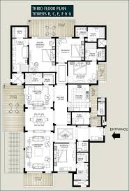 Floor Plan Of by Floor Plans Of Emaar Mgf The Palm Springs Apartments U0026 Penthouses