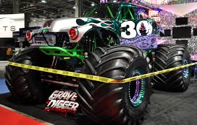 grave digger monster truck power wheels just a car guy grave digger the metallic chome paint is killer