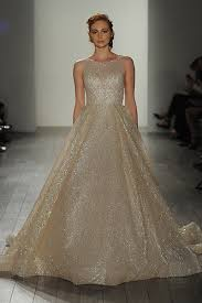 gown for wedding 20 metallic wedding gowns for who crave that wow factor