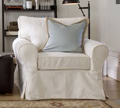 slipcover chair sale pb basic slipcovered armchair pottery barn