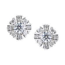diamond earrings philippines 14k gold earring with diamond gbd1ya60167 from phu nhuan jewelry