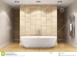 modern bathroom with beige tiles on wall stock images image