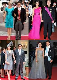 Dresses For Wedding Guests 2011 Frills And Thrills Fashion At Monaco U0027s Royal Wedding