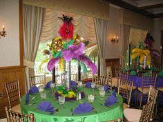 Candy Themed Centerpieces by Mardi Gras Themed Sweet 16 Custom Made Mask To Suit Colors