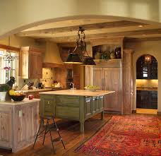 old world charm rustic kitchen oklahoma city by monticello