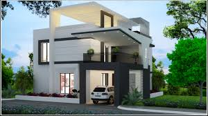 3d view of a beautiful house designed by apnaghar for more