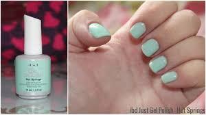 obsessed by beauty nails of the week ibd just gel in springs