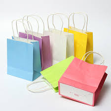 where to buy goodie bags colorful kraft paper gift bag wedding party handle paper gift bags