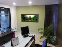 Fish Tank Reception Desk Aquarium Design India