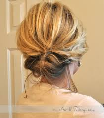 the chic updo u2013 the small things blog