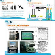 lexus rx300 air suspension japanese car shock absorber 334261 48510 49155 for lexus rx300 2wd