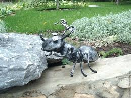 iron ant artwork unique garden decorations wrought wrought iron