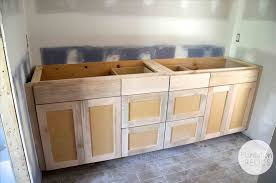 unpainted cabinets kitchen unfinished creative decoration elegant