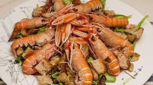 cuisiner les langoustines langoustines aux cèpes recette par kilometre 0