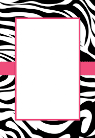 best collection of free printable zebra print baby shower