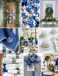 Off White Christmas Decorations by 186 Best Christmas Blue White And Silver Images On Pinterest