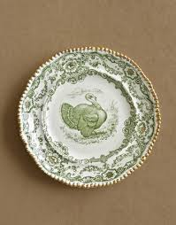 turkey china transferware thanksgiving dinner