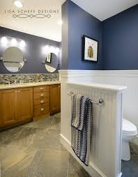 boy bathroom ideas boys bathroom in navy blue