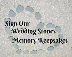 wishing rocks for wedding 20 flat guest book stones wedding rocks flat wishing stones