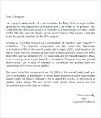 4 best images of middle student recommendation letter