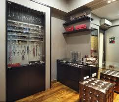 Wall Mirror Jewelry Storage Jewelry Storage Mirror Closet Traditional With Necklace Hooks