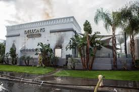 Cal State Fullerton Campus Map by Four Alarm Fire Ravages Dillon U0027s Bar U0026 Grill Near Cal State