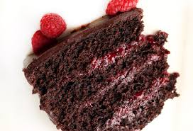 pickycook com chocolate raspberry layer cake with chocolate