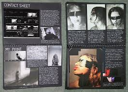 These sketchbook pages are part of the research and planning in an A Level Photography project Pinterest