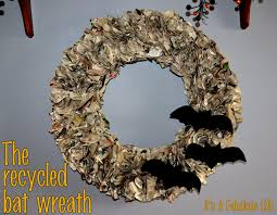 How To Make Halloween Wreaths by How To Recycle Recycled Halloween Decorations