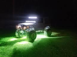 2 led mini rock crawl light mud led