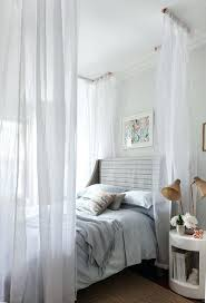 Sloped Ceiling Bedroom Decorating Ideas Beds Ceiling Bed Canopy Ideas Sloped Tulle Fabric Covered Frame
