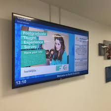 digital signage for education schools universities