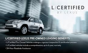 lexus manufacturer warranty used car leasing is on the rise but is it a smart move
