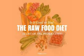 is the raw food diet good or bad pros and cons yuri elkaim