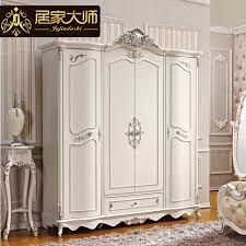 White Wardrobe Cabinet French Style Bedroom Furniture Wood Combinations White Wardrobe